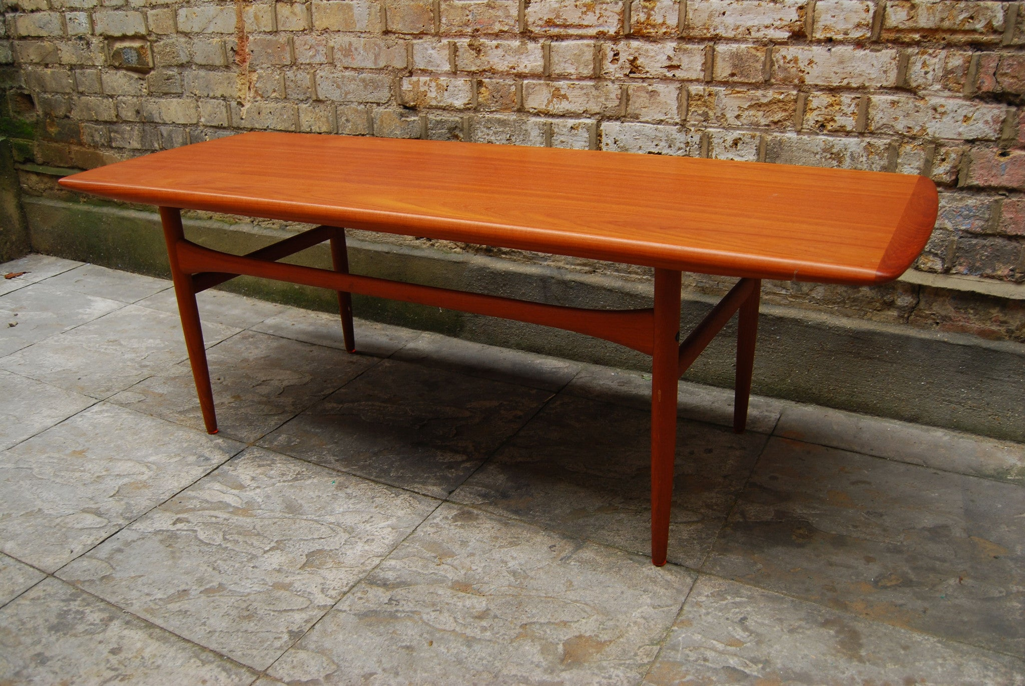 Chase & Sorensen Teak coffee table by Grete Jalk