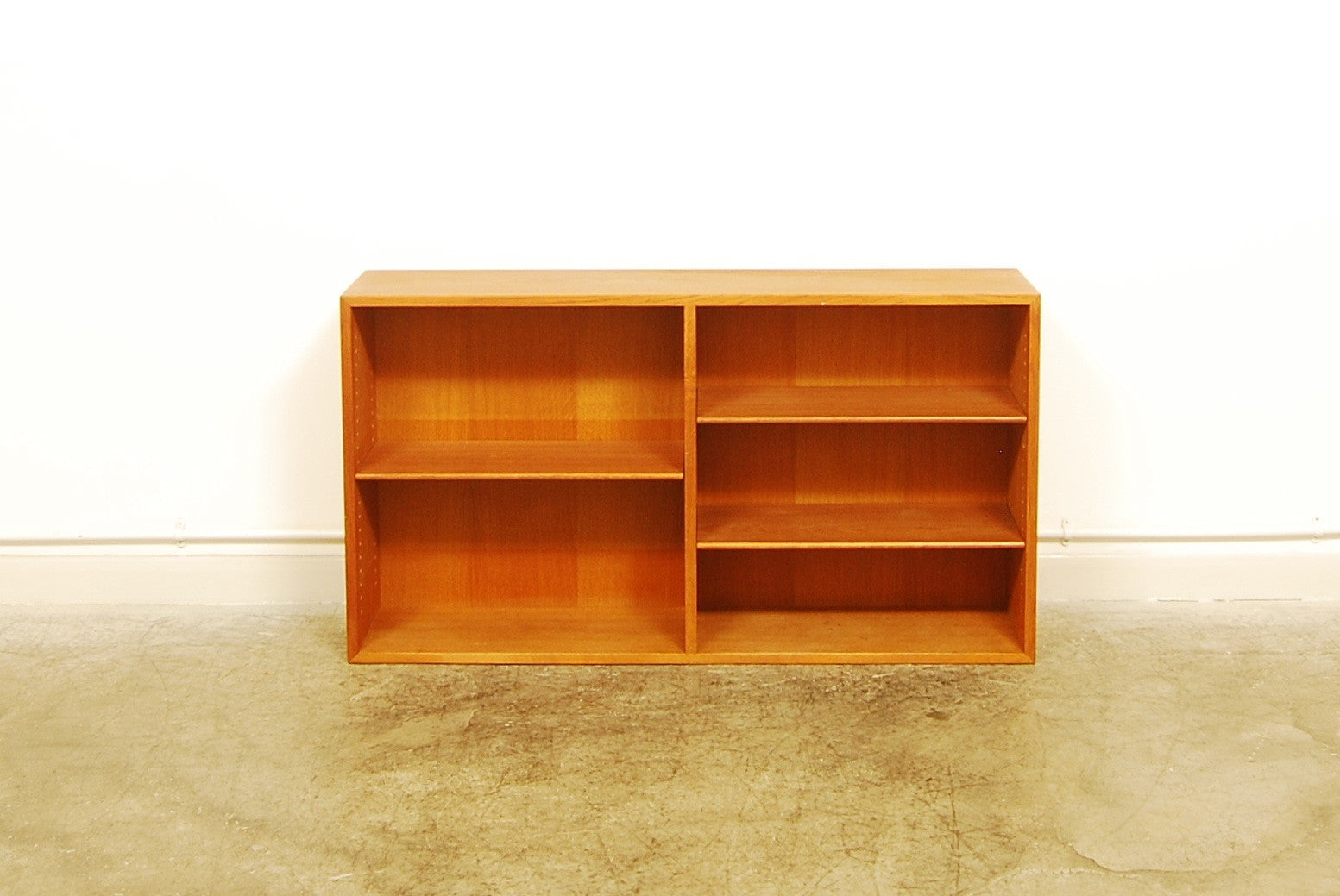Oak bookcase by Børge Mogensen
