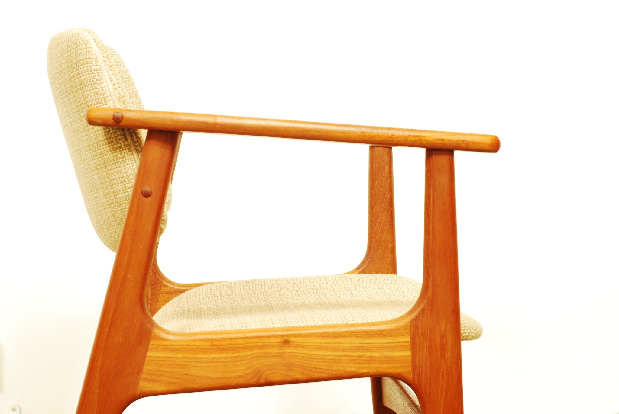 Pair of teak desk chairs no.2