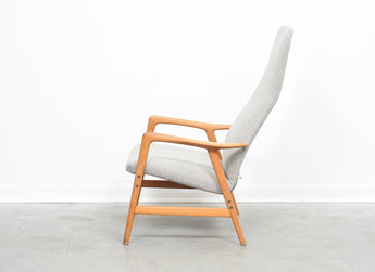 Reclining lounger by Alf Svensson