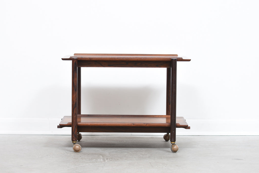 Rosewood extending trolley by Poul Hundevad