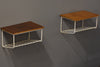 Pair of floating bedside tables