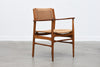 1960s armchair in teak + oak by Ejner Larsen and Aksel Bender Madsen