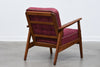 1950s Danish lounger in teak + oak