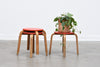 One left: 1970s children's stools / plant stands