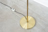 1960s brass floor lamp