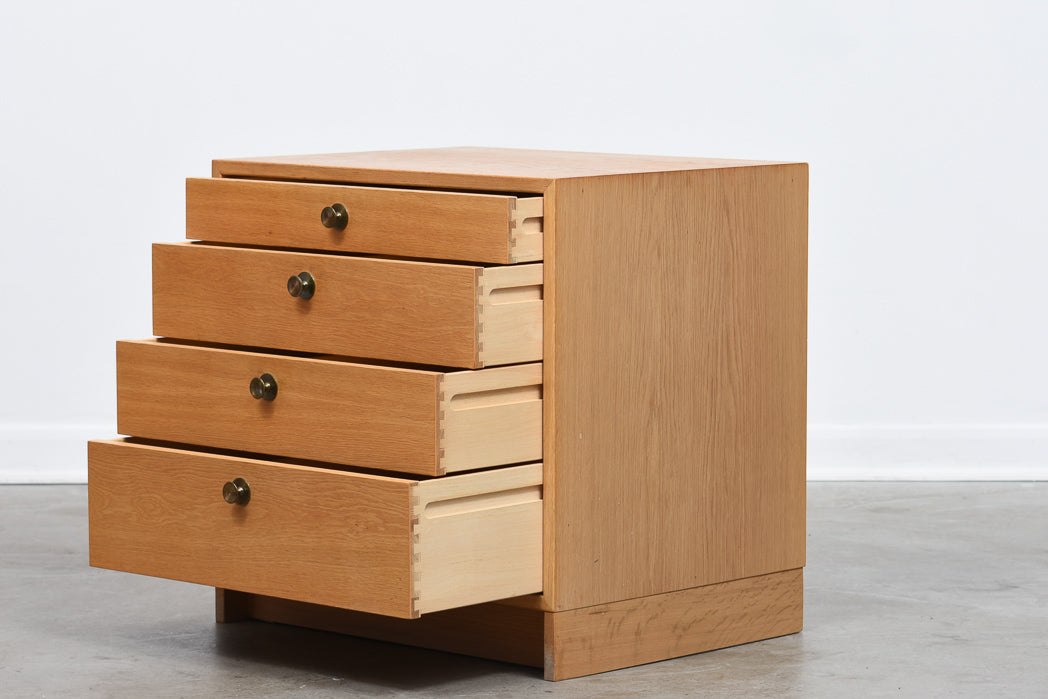Oak chest of drawers by Børge Mogensen