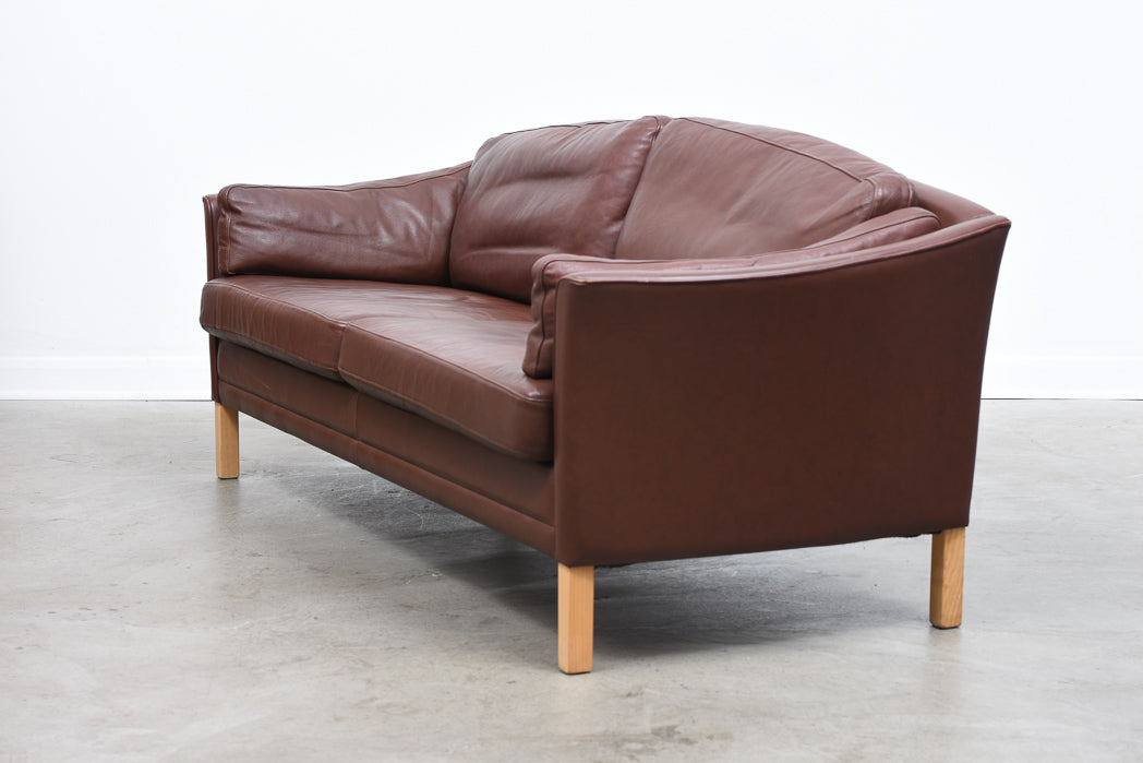 Two available: Two and a half seat sofa by Mogens Hansen