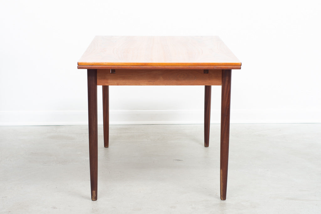 1960s extending teak dining table