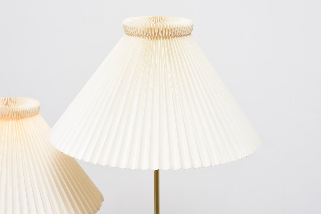 One left: Model 352 table lamps by Le Klint