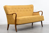 1950s mustard three seater