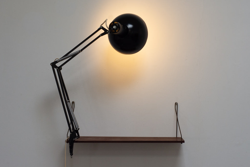 Vintage architect table lamp by Louis Poulsen - Black
