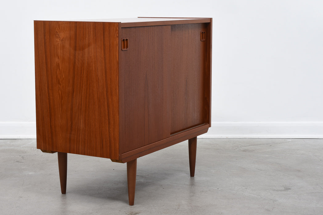 1960s short teak sideboard