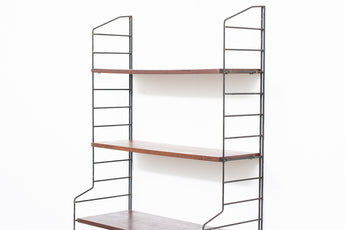 Single bay of Ladderax shelving no. 1