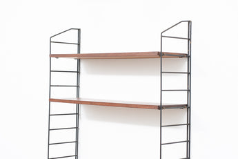 Single bay of Ladderax shelving no. 2