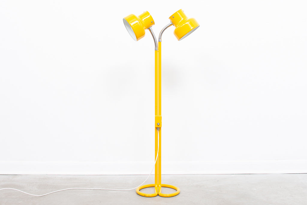 Twin-headed Bumling floor lamp by Anders Pehrsson