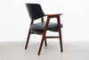 Rosewood + leather armchair by Erik Kirkegaard