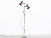 1960s twin-headed floor lamp