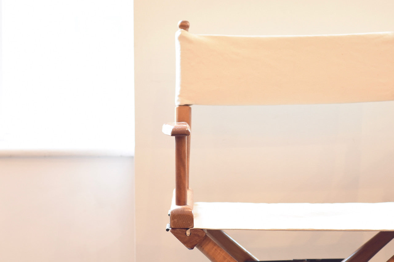 Just in: Folding director's chair