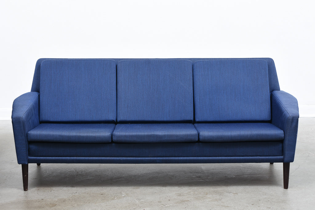 1960s Danish three seat sofa