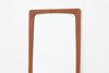 1960s rectangular teak mirror