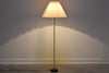 1950s floor lamp with concertina shade
