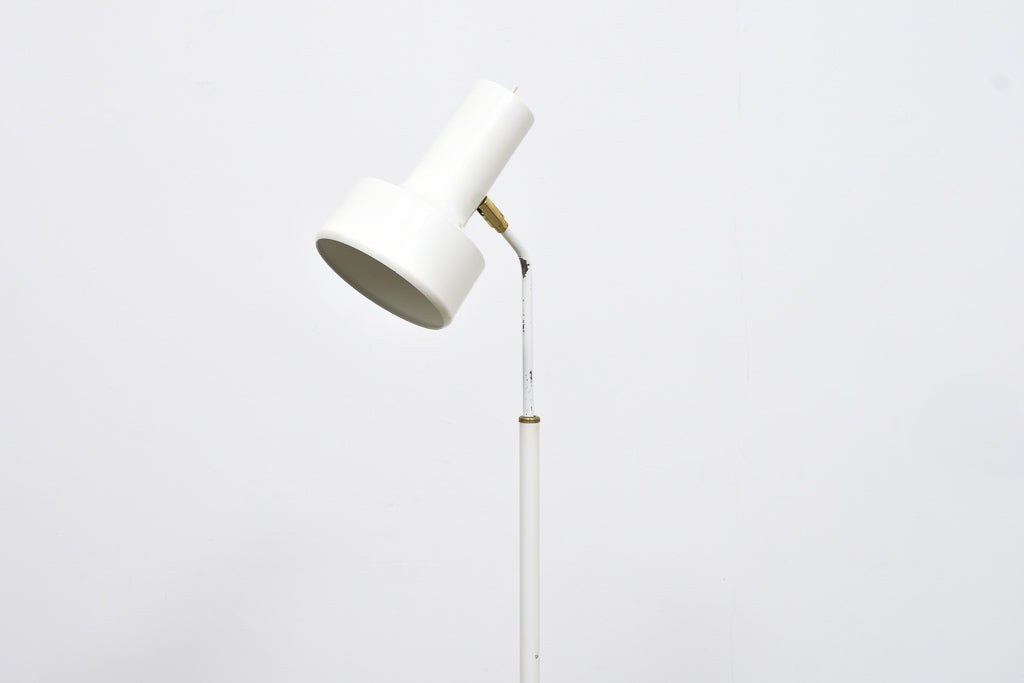 1960s floor lamp with brass details