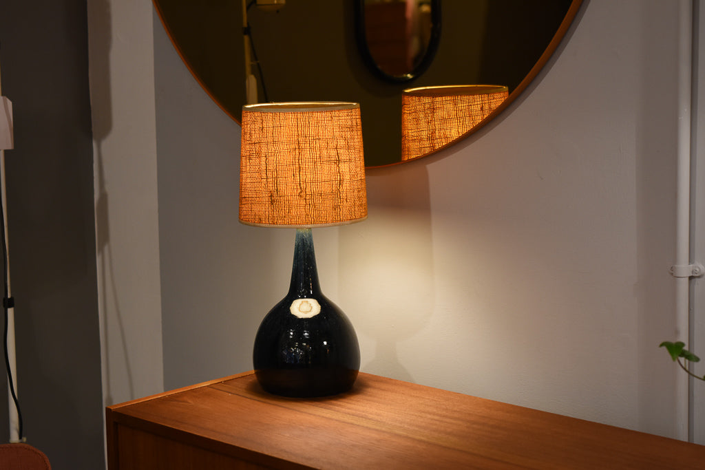Ceramic table lamp by Palshus