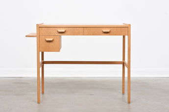 Oak beauty desk by Nordiska Kompaniet
