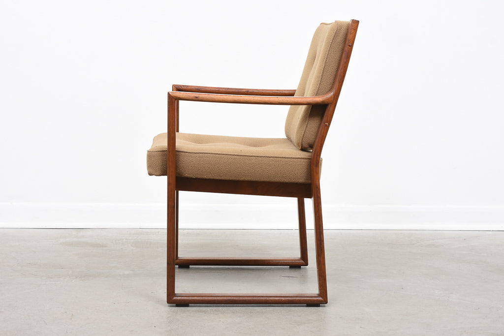 Teak arm chair by J.O. Carlsson