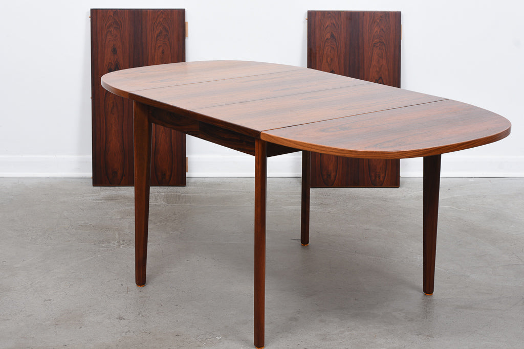 1960s extending rosewood table