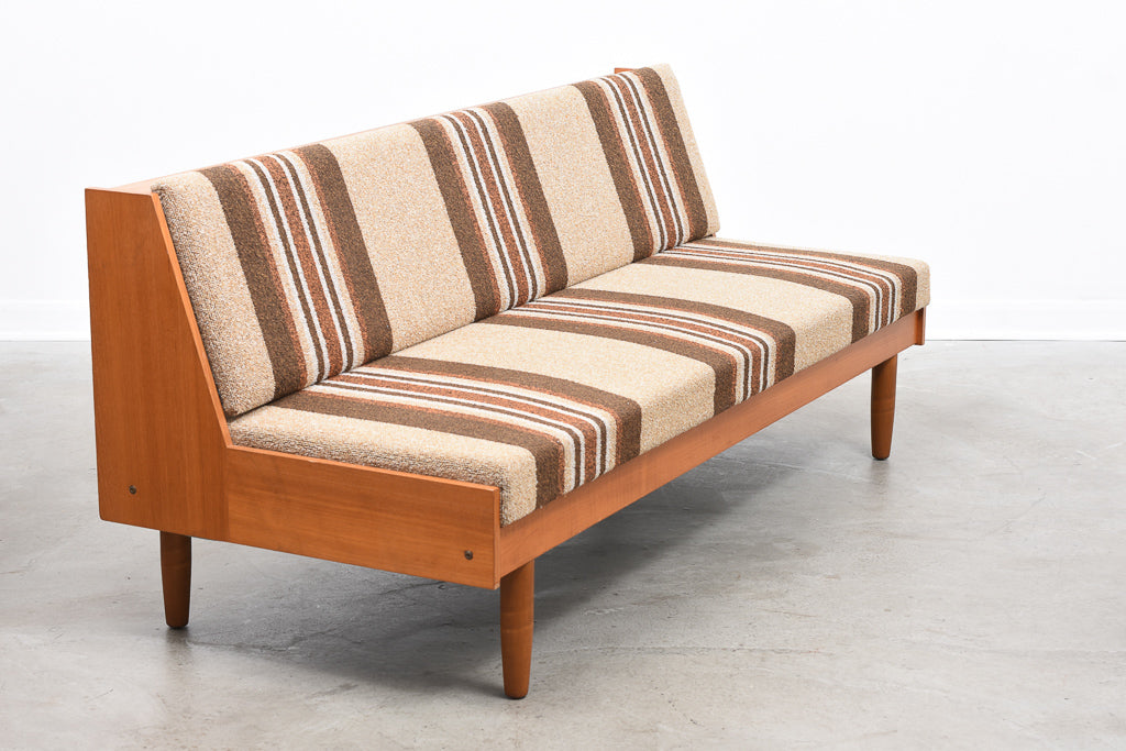 1960s teak double daybed