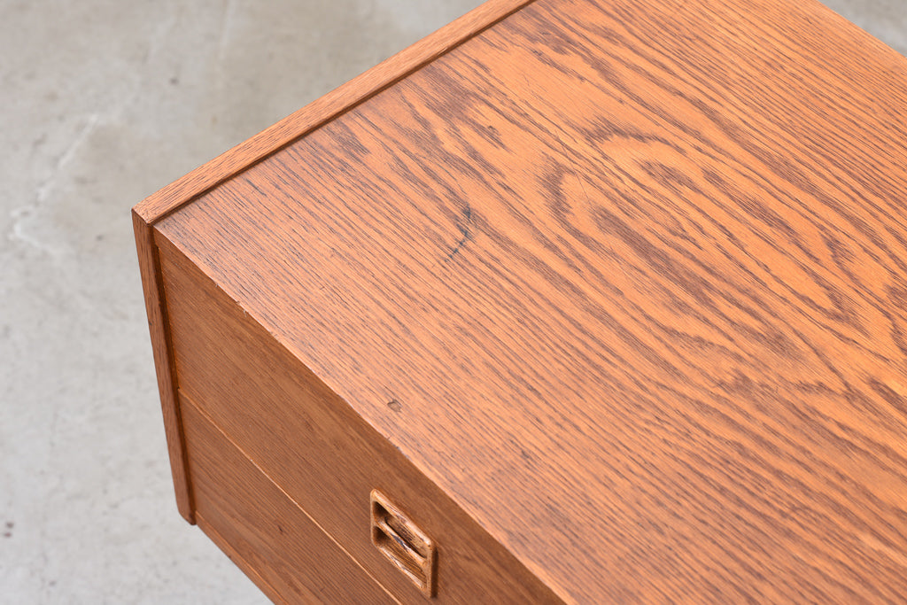 Low chest in oiled oak