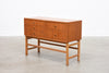 1960s low chest in teak