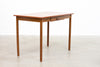 Teak + beech desk/dining table
