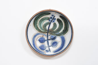 Ceramic wall plate by Noomi Backhausen for Søholm