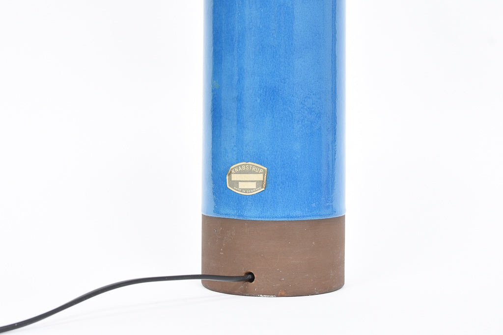 Ceramic table lamp by Knabstrup