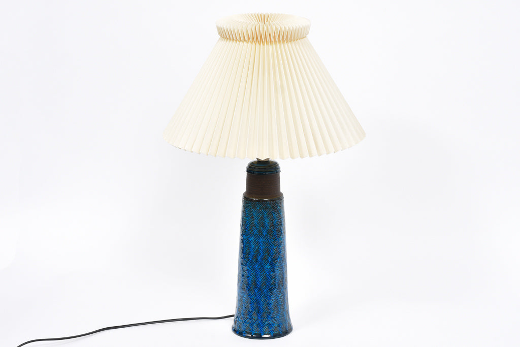 Stoneware table lamp by Nils Kähler