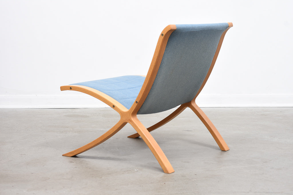 Two available: X chairs by Peter Hvidt & Orla Molgård Nielsen