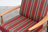 Beech lounger by Grete Jalk for France & Daverkosen