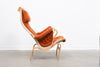 Pernilla lounge chair + foot stool by Bruno Mathsson