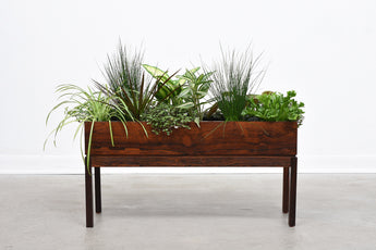 1960s rosewood planter
