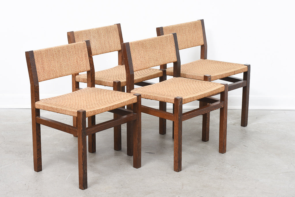 Set of four chairs by Martin Visser for Spectrum