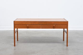 1960s low teak unit by Bodafors