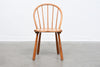 1940s spindle back chair by Fritz Hansen
