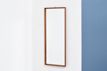 1960s full length teak mirror