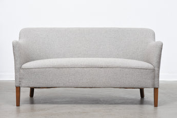 1940s Danish two seat sofa