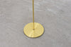 1970s floor lamp with brass finish