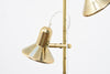 1960s twin-headed Danish floor lamp