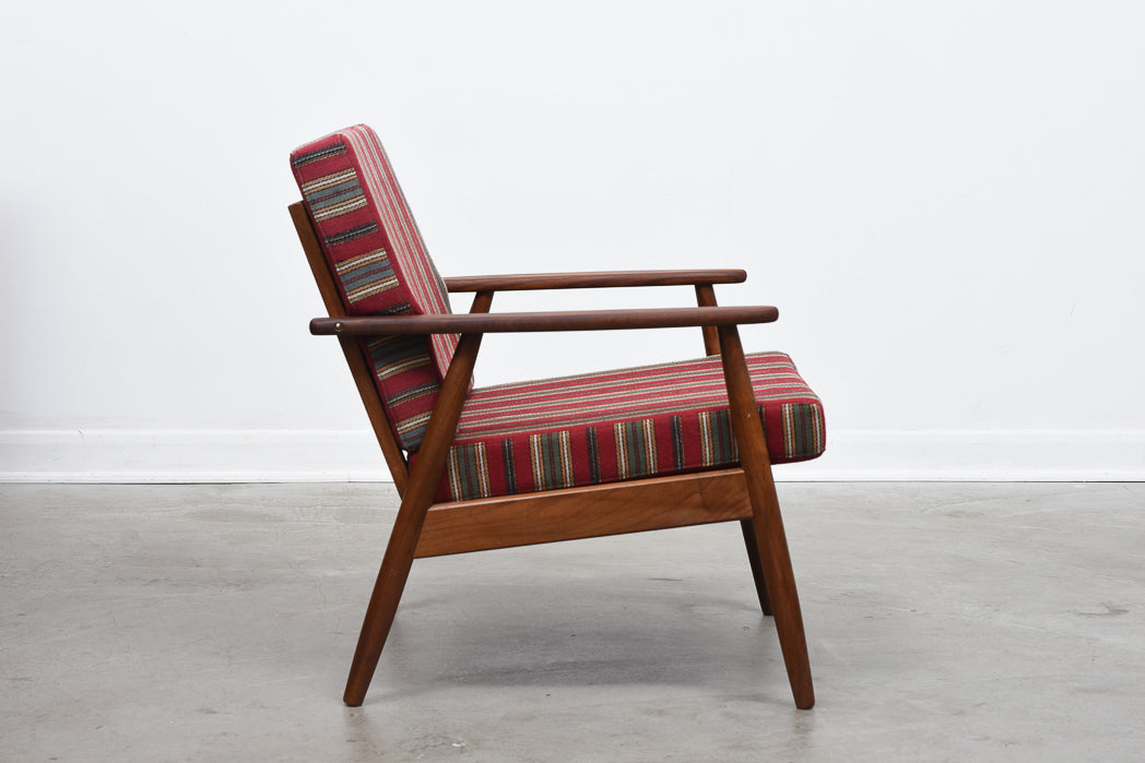 Two available: 1960s Danish teak loungers